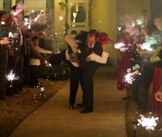 Sparklers, Kiss, sooo hot. ...'love is in the air, my dearest...' fav +1