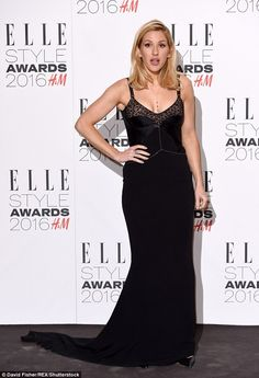 Wowing them:Ellie Goulding pulled off another winning ensemble as she hit the ELLE Style ...