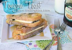 Disney World's Tongan Toast ~ Knock-off! - Or so she says...so good!