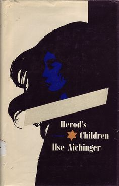 Milton Glaser, cover for Ilse Aichinger book by 50 Watts, via Flickr
