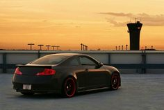 Black and Red New Infiniti, Girls Driving, Because Race Car, Honda Cars, Chevrolet Tahoe, Nissan Skyline, Race Cars, Dream Cars, Automobile