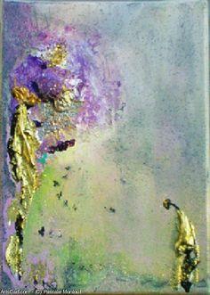 Artwork >> Pascale Montout >> Hellebore  #artworks, #masterpiece, #painting, #art, #abstract
