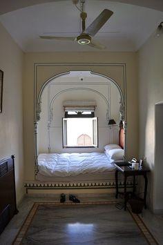 Suite of The Courtesan, Raj Hotel, Jaipur, India For Anais's Artist Cottage Retreat Dream Home Design, Home Interior Design, House Design, Decoration Inspiration, Room Inspiration, Dream Apartment, Aesthetic Bedroom, Dream Rooms, House Rooms