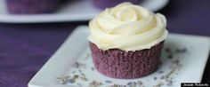 Lavender Cupcakes with Honey Frosting�|�Jessie Roberts