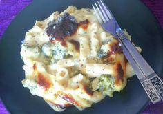 Brocoli Pasta And Cheese Bake
