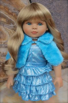"Come visit our 18"" soft bodied dolls at www.shop.harmonyclubdolls.com Size of American Girl. Shop dolls and 250 Fashions to fit 18"" dolls."