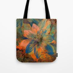 Buy Floral abstract(43). Tote Bag by Mary Berg. Worldwide shipping available at Society6.com. Just one of millions of high quality products available.