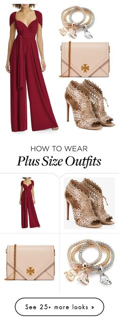 """""""Untitled #38"""" by belabela-1 on Polyvore featuring Dessy Collection, Alaïa and Tory Burch"""