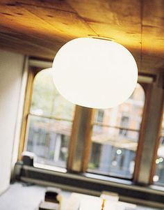 glo-ball ceiling Design Jasper Morrison