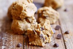 Breakfast Raw Oatmeal Cookie Dough Bites - Breakfast, Desserts and Snacks, Recipes - Divine Healthy Food