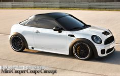 <3 Love this Mini Coupe Black and White 2015 <3