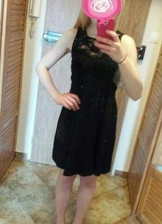 Kup mój przedmiot na #vintedpl http://www.vinted.pl/damska-odziez/krotkie-sukienki/16301317-czarna-koronkowa-sukienka-evenodd-nowa-nienoszona-bez-metek