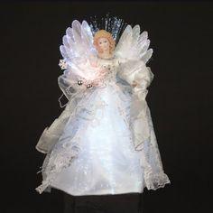 Kurt Adler CUL Fiber Optic LED Angel... $31.14 #bestseller