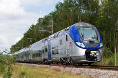Latest order is part of a Regio contract signed in 2010 with French National Railway Company (SNCF) on behalf of the French Regions To date ten French R Train France, Rail Train, High Speed Rail, Abandoned Train, Blue Train, Trains, Double Deck, Speed Training, Steam Locomotive