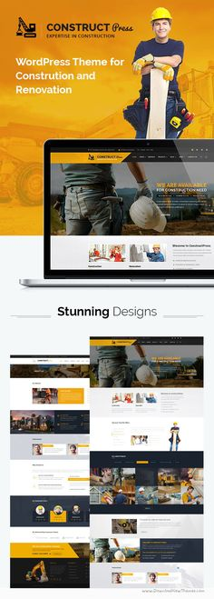 Construct Press is beautifully design modern responsive #WordPress #Theme for #Construction and Renovation business website download now➝ https://themeforest.net/item/construct-press-construction-and-renovation-wordpress-theme/15800664?ref=Datasata