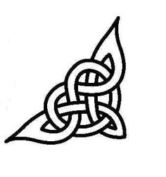 celtic symbol for love - Google Search I would love this but only because it'd remind everyday of someone I should be forgetting.