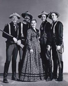 From Rio Grande, with Harry Carey, Jr., John Wayne, Claude Jarman, Jr., Ben Johnson and the loveliest of Irish ladies, Maureen O'Hara.