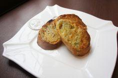 ・フランスパン・・・5~6枚 ★ ・ヘンプシードナッツ・・・20g ・メープルシロップまたはアガベシロップ・・・15g ・オリーブオイル・・・5g  ① フランスパンをあらかじめ焼いておく。 ② ★を混ぜ合わせ、①に塗り、もう一度オーブントースターでこんがり焼く。