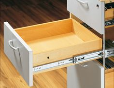 Kitchen Drawer Slides Glossy Cabinets 35 Best And Images Bathroom Drawers Full Extension