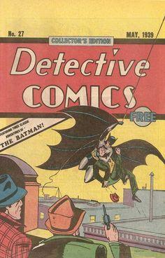 Batman 27 May 1939 Comic Book COLLECTORS Edition by oldandwise, $20.00