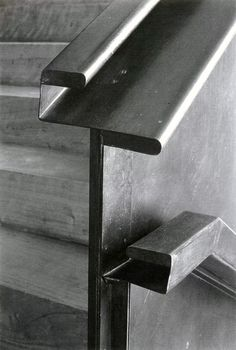 A handrail by Alejandro de la Sota.