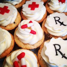 Pharmacy Cupcakes