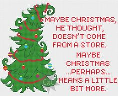 ** Please be aware that this listing is for a cross stitch pattern via download and not a completed sampler** Taken from the Christmas classic,