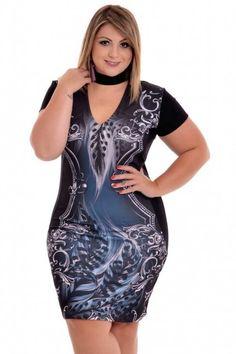 Vestido Plus Size Luna