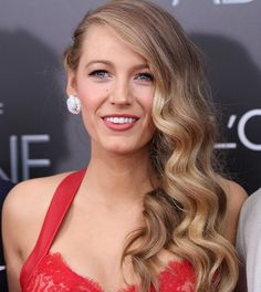Blake Lively on Doing Her Own (Gorgeous!) Hair and More on Her Age of Adaline Premiere Look