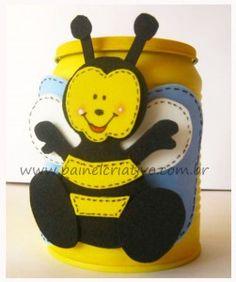 Latinha da abelhinha