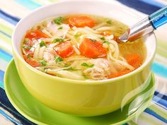 Slow Cooker Chicken Noodle Soup - 4 Smartpoints | Weight Watchers Recipes