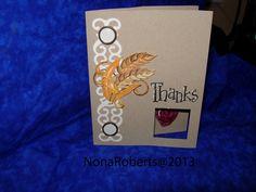 www.quwikcards.blogspot.com Stampin up stamp set Fall Fun. Cricut cartridge Elegant  and Thanksgiving.