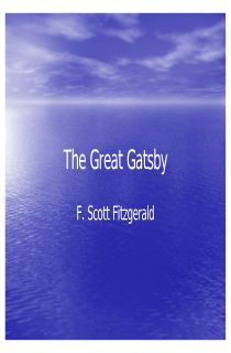 great gatsby essay introductions