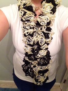 Double sashay scarf  by CorasPalace on Etsy