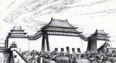 Art of Mulan Minecraft Japanese House, Bg Design, Disney Renaissance, Avatar World, Disney Concept Art, Cartoon Sketches, Walt Disney Pictures, Visual Development, Conceptual Art