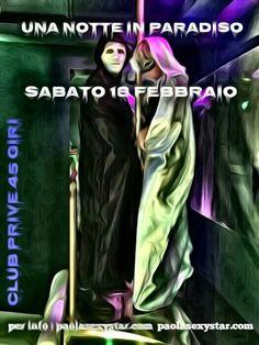 Una Notte in Paradiso - Club Prive Milano 45 Giri