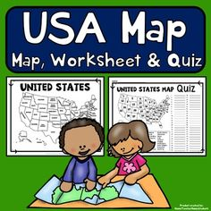 World map world map quiz test and map worksheet 7 continents easy to read united states map with corresponding usa map quiz and practice gumiabroncs Choice Image