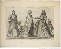 Foreign Costume Series | Jean-Jacques Boissard | 1581 | Bibliothèque nationale de France | Ref.: 4-OB-26 | Women of London