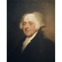 John Adams ca 1800-15 Gilbert Stuart (1755-1828 American) Oil on canvas National Gallery of Art Washington DC USA Canvas Art - Gilbert Stuart (18 x 24)