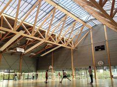 Glulam.org, Portail du bois lamellé - Bâtiments d'enseignement -