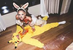 Картинка с тегом «ariana grande, Halloween, and mac miller»