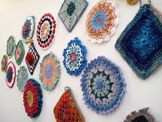 Potholders by One Flew Over..., via Flickr