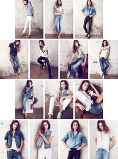 Wear all the denim!