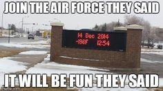 Air Force in Minot, North Dakota