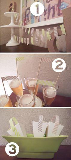 cute washi tape ideas