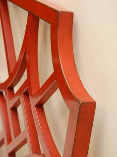 Chinese Chippendale Fretted Headboard