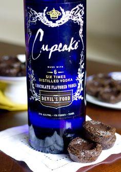Chocolate Brownie Pudding Shots