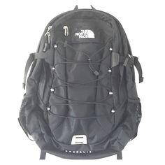 New North Face backpack Brand new Black North Face backpack. This bag has plenty of interior storage as well as two net side pockets. (Also listed cheaper on ♏️) The North Face Bags Backpacks