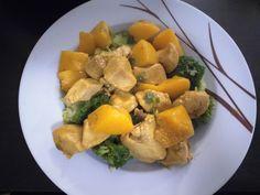Hähnchen - Pfirsich - Curry, ein beliebtes Rezept aus der Kategorie Geflügel. Bewertungen: 14. Durchschnitt: Ø 4,4.
