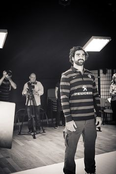 Shooting pour la collection Automne/Hiver avec Yoann #Huget !